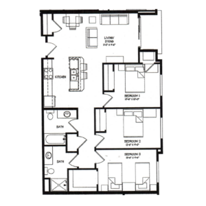 Three Bedroom G