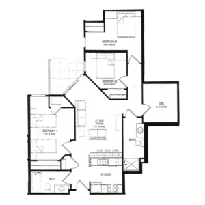 Three Bedroom K