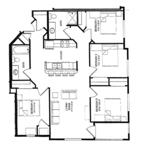 Four Bedroom A