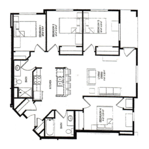 Four Bedroom D