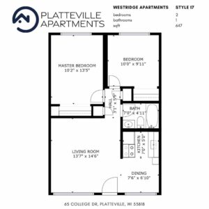 Two Bedroom Style 17