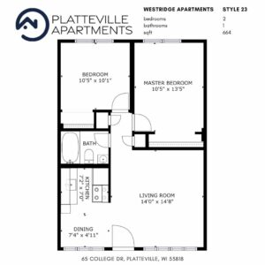 Two Bedroom Style 23