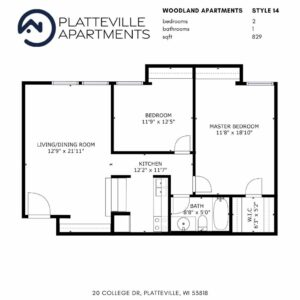 Two Bedroom Style 14